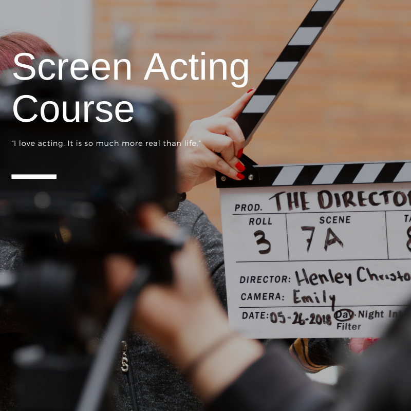 Screen Acting Course