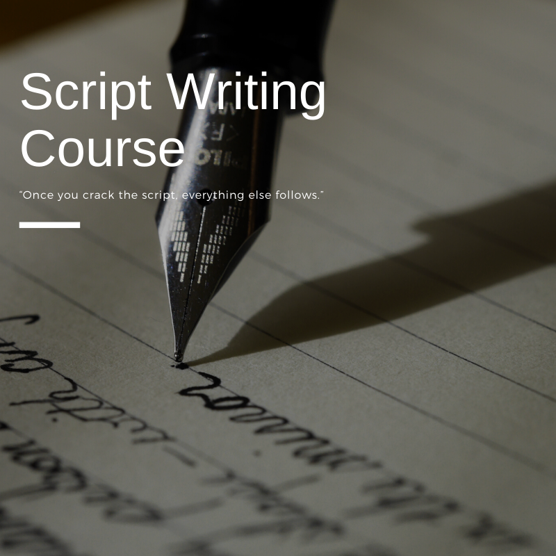 Script Writing Course